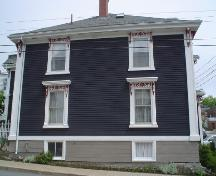 Zwicker House, Old Town Lunenburg, south façade, 2004; Heritage Division, Nova Scotia Department of Tourism, Culture and Heritage, 2004