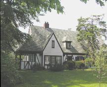 R.O. McCurdy House, front perspective, 2004; Heritage Division, NS Dept. of Tourism, Culture and Heritage, 2004