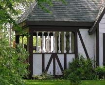 R.O. McCurdy House, porch detail, 2004; Heritage Division, NS Dept. of Tourism, Culture and Heritage, 2004