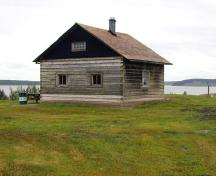 McPherson House - exterior - junction of Mackenzie / Liard Rivers, 2004; A.Geggie/GNWT-2004