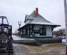 Canadian Northern Railway Station, Fort Saskatchewan (2005); Alberta Culture and Community Spirit, Historic Resources Management Branch
