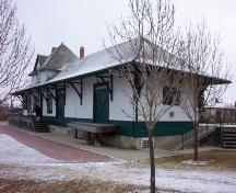 Canadian Northern Railway Station, Fort Saskatchewan (2005); Alberta Culture and Community Spirit, Historic Resources Management Branch, 2007