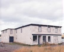 View of front facade and left side, Reid's General Store, Heart's Delight.; Heritage Foundation of Newfoundland and Labrador, 2003