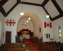 St. Ambrose Anglican Church, Redcliff (2007); Alberta Culture and Community Spirit, Historic Resources Management Branch
