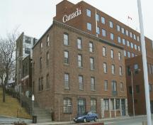 View of the front facade and left side of the Crow's Nest Officers Club, St. John's, 2003; Heritage Foundation of Newfoundland and Labrador, 2005