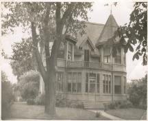 Showing house, c. 1940s; Wyatt Heritage Properties, Acc. 128.004