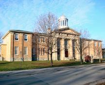 East elevation of the Ontario County Court House; OHT, 2006