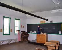 Intérieur de l'école Canal, McCreary, 2006; Historic Resources Branch, Manitoba Culture, Heritage, Tourism and Sport, 2006