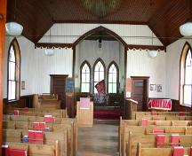 Interior View of St. Paul's Anglican Church, Baie St. Paul, 2004; Historic Resources Branch, Manitoba Culture, Heritage, Tourism and Sport, 2004