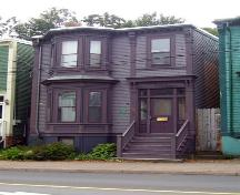 Front elevation, 2548 Gottingen Street, Halifax, NS, 2008.; Heritage Division, NS Dept. of Tourism, Culture and Heritage, 2008