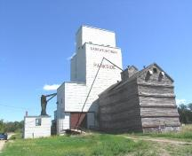 Saskatchewan Wheat Pool Elevator in Parkside, 2006.; Government of Saskatchewan, Flaman, 2006.