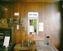 Interior view of the Pitt Meadows General Store and Post Office, 2005; District of Pitt Meadows, 2005