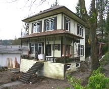 Exterior view of White Residence; City of Port Moody, 2007