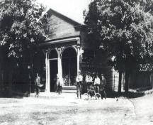 Oldest known picture showing appearance of building – 1905; Ontario College of Pharmacists – 1905