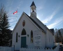 Ralph Connor Memorial United Church, Canmore; Alberta Culture and Community Spirit, Historic Resources Management