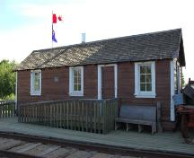 Canadian Pacific Railway Station, Paradise Valley (2006); Alberta Culture and Community Spirit, Historic Resources Management Branch
