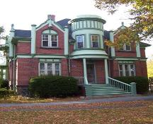 Front elevation, 1606 Bell Road, Halifax, NS, 2008.; Heritage Division, NS Dept. of Tourism, Culture and Heritage, 2008