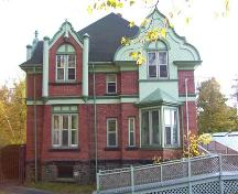 Side elevation, 1606 Bell Road, Halifax, NS, 2008.; Heritage Division, NS Dept. of Tourism, Culture and Heritage, 2008