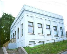 View of front facade, Bank of Montreal, Corner Brook, NL.; HFNL 2005