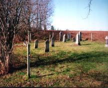 Showing context of cemetery near field; PEI Genealogical Society, 2006