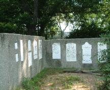 Monuments of the Upper Farm Cemetery; Haldimand County