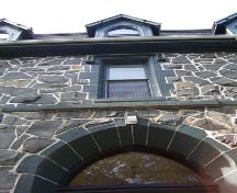 Stone rustication detail, 5355 Russell Street, Halifax, NS, 2008.; Heritage Division, NS Dept. of Tourism, Culture and Heritage, 2008