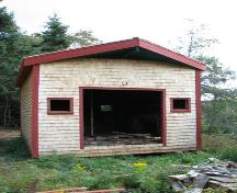 Showing front elevation of renovated kiln building; Province of PEI, Carter Jeffery, 2008