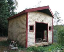 Showing side elevation of renovated kiln building; Province of PEI, Carter Jeffery, 2008