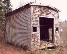 Showing kiln before renovation - west side; Province of PEI, Carter Jeffery, 2007