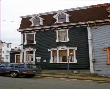 View of front facade of #028 Cochrane Street, St. John's, NL.; Heritage Foundation of Newfoundland and Labrador, 2005