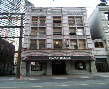 Exterior view of 340 Cambie Street; City of Vancouver, 2008