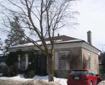 North and west elevations of 396 St. Andrew Street East, 2007.; Lindsay Benjamin, 2007.