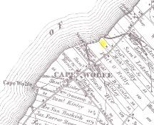 Showing location of cemetery on Reilly property; Meacham's Illustrated Historical Atlas of PEI, 1880