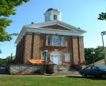 Front of Endinburgh Square Heritage and Cultural Centre; County of Haldimand 2007