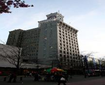 Exterior view of the Vancouver Block; City of Vancouver, 2007
