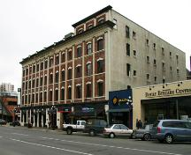 Exterior of the Dominion Hotel; City of Victoria, 2008