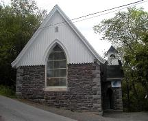St. Augustine's Chapel, south-east elevation, 2004; Heritage Division, Tourism, Culture and Heritage, 2004