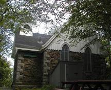 St. Augustine's Chapel, north-west elevation, 2004; Heritage Division, Tourism, Culture and Heritage, 2004