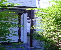 Porch detail, Mizpah Cottage, Lunenburg, NS, 2004.; Heritage Division, Nova Scotia Department of Tourism, Culture and Heritage, 2004