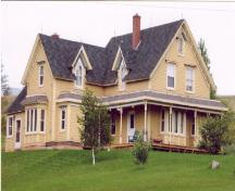 Showing southwest elevation; Province of PEI, Carter Jeffery, 2007