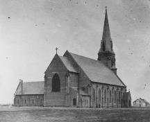 Showing Cundall photograph of church, c. 1862; PEI PARO Acc. 3466/HF 74.27.3.163