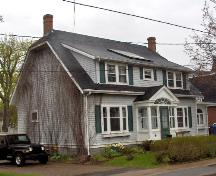 Showing north elevation; City of Charlottetown, Natalie Munn, 2007