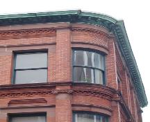 Shaw Building, window detail, 2005; HRM Planning and Development Services, Heritage Property Program, 2005
