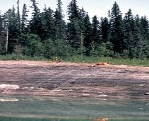 Beaver River Quarry Archaeological Site Provincial Historic Resource, near Fort MacKay (date unknown); Alberta Culture and Community Spirit - Royal Alberta Museum, date unknown