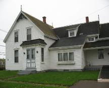 Showing east elevation; Wyatt Heritage Properties, 2008