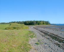 View of the general vicinity of the Pagan Point site; Province of New Brunswick