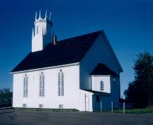 Coverdale United Church - side elevation; PNB 2004