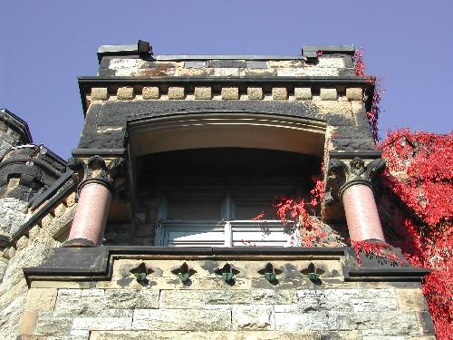Caverhill Hall - Balcony