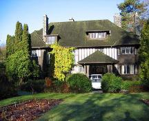Exterior view of Nichol House; City of Vancouver, 2008
