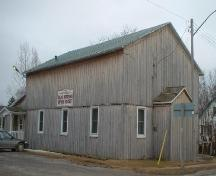 Original siding of St. John's Parish Hall; Haldimand County 2007